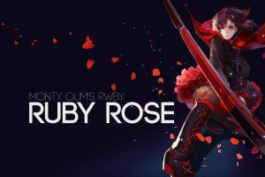 rwby ruby rose (character) anime girls