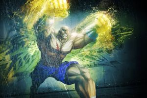 sagat (street fighter) warrior street fighter x tekken street fighter artwork