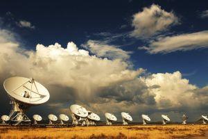 satellite sky antenna technology