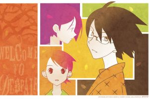 sayonara zetsubou sensei anime girls collage anime