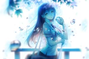 school uniform anime water niya anime girls original characters