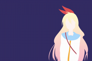 school uniform nisekoi long hair blonde blue eyes ribbon hair ornament anime kirisaki chitoge anime girls anime vectors