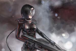 science fiction cyberpunk women