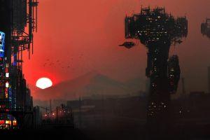science fiction futuristic cyberpunk