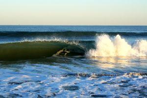 sea nature waves