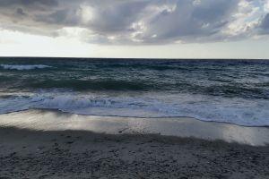 sea sea foam landscape beach horizon