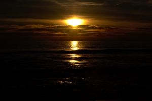 sea sunset sunlight sky