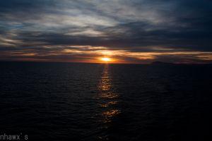 sea sunset sunlight