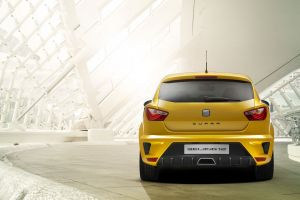 seat ibiza car concept cars yellow cars
