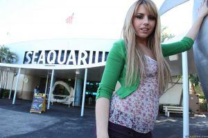see-through clothing women blonde pornstar lexi belle brazzers