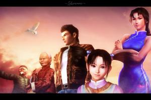 sega dreamcast video games shenmue
