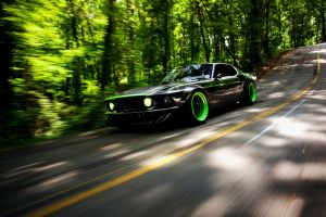 shelby cobra car vehicle motion blur ford mustang road