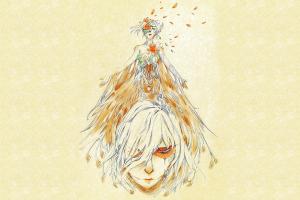 shingeki no kyojin simple background fantasy art fantasy girl artwork