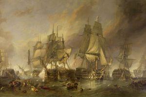 ship artwork painting