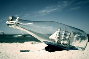 ship bottles sea photography ship in a bottle beach sand