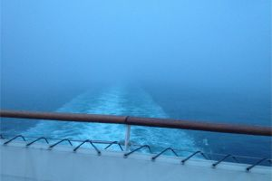 ship sky sea