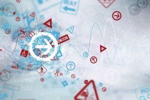 sign arrows (design) traffic digital art