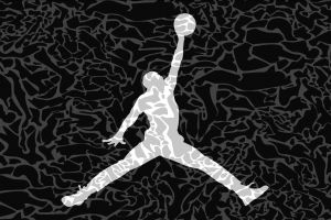 silhouette artwork basketball sport