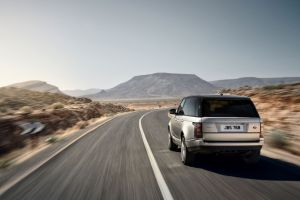 silver cars car vehicle range rover road