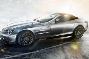 silver cars vehicle car mercedes slr mercedes benz
