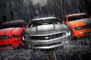 silver cars vehicle chevrolet camaro car orange cars red cars