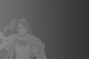 simple background anime anime girls monochrome tennouji nae