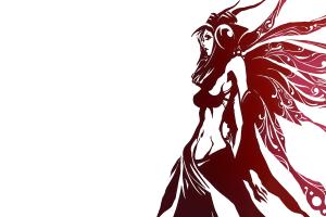 simple background anime white background fantasy girl women anime girls fantasy art skinny
