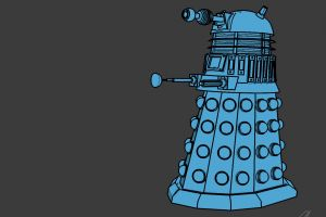 simple background doctor who minimalism daleks