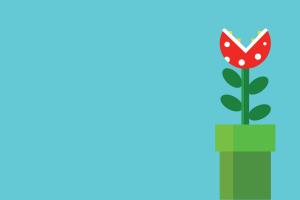 simple background simple super mario video games minimalism