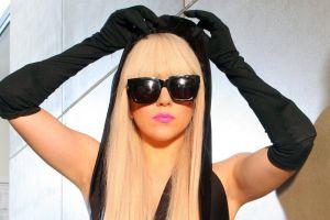 singer sunglasses lady gaga gloves