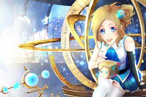 sitting internet explorer anime anime girls blue eyes aizawa inori  blue