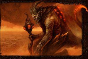 skull dark fantasy fantasy art disciples 3 demon