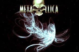 skull metallica  big 4  music