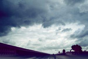 sky clouds dark photo manipulation