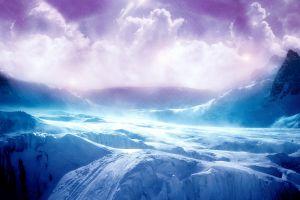 sky clouds fantasy art