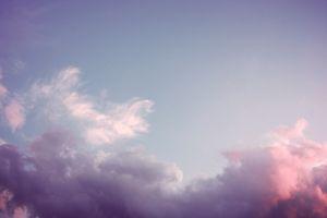 sky nature clouds blue