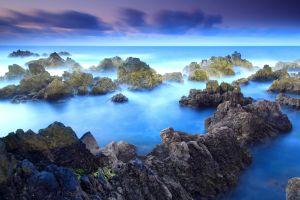 sky nature landscape sea horizon