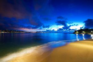 sky night clouds