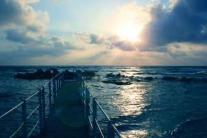 sky pier sea horizon