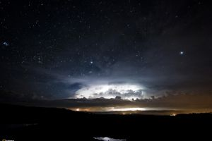 sky stars space art clouds night space