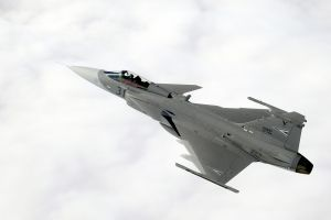 sky vehicle airplane aircraft jas-39 gripen military military aircraft