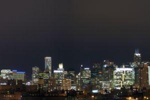skyline chicago usa cityscape