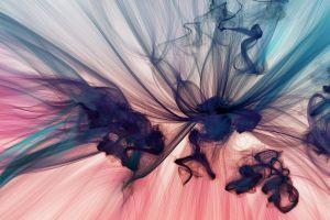 smoke digital art texture chaotic