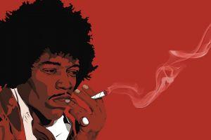 smoking celebrity drugs singer men jimi hendrix artwork
