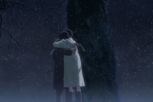 snow anime 5 centimeters per second winter
