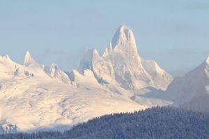 snow nature mountains