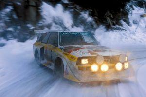 snow rally audi audi sport quattro s1 rallye rally cars car
