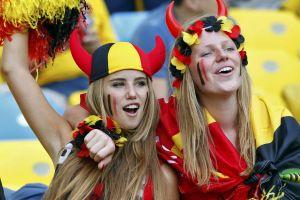 soccer girls belgium women fans blonde axelle despiegelaere fifa world cup armpits