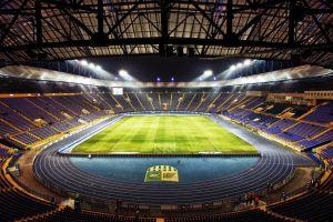 soccer stadium grass