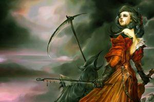 soraka fantasy girl league of legends violin fantasy art